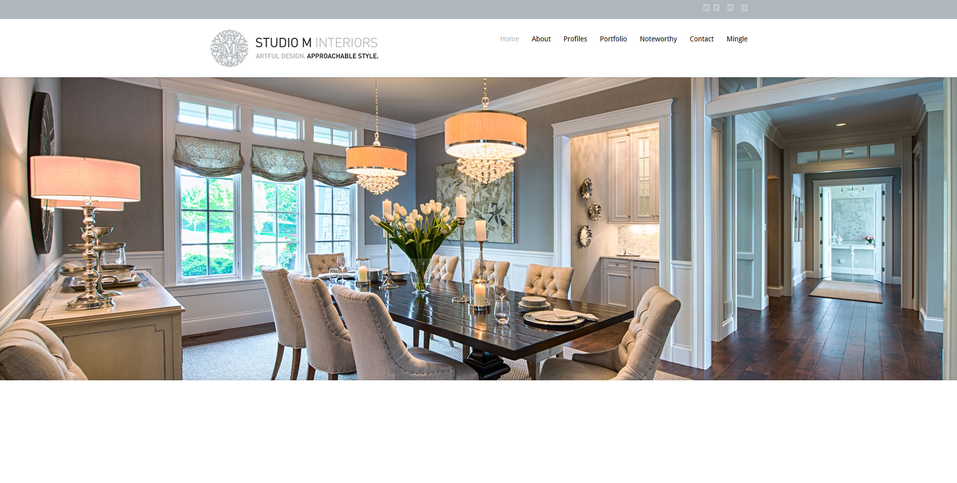 Studio M Interiors Website, Plymouth, MN