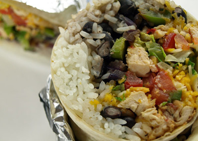 Bluestone Grill Loaded Burrito